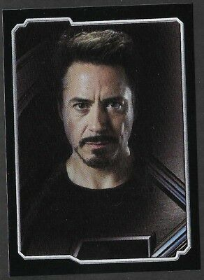 MARVEL - THE AVENGERS - STICKER COLLECTION - No 10 - TONY STARK - By PANINI