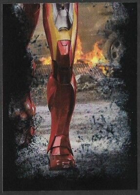 MARVEL - THE AVENGERS - STICKER COLLECTION - No 13 - IRONMAN - By PANINI