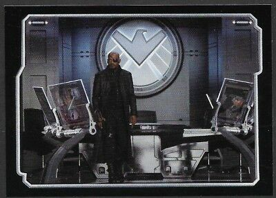 MARVEL - THE AVENGERS - STICKER COLLECTION - No 17 - NICK FURY - By PANINI