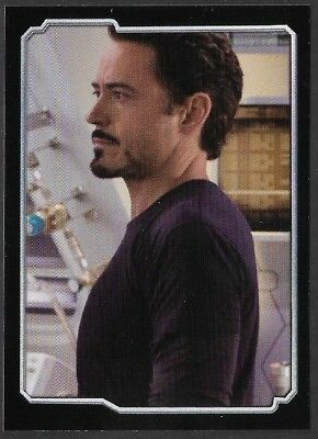 MARVEL - THE AVENGERS - STICKER COLLECTION - No 14 - TONY STARK - By PANINI