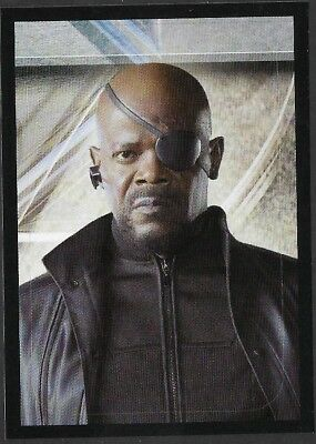 MARVEL - THE AVENGERS - STICKER COLLECTION - No 16 - NICK FURY - By PANINI