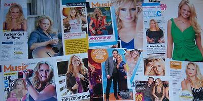 Miranda Lambert 35 pc German Clippings Collection