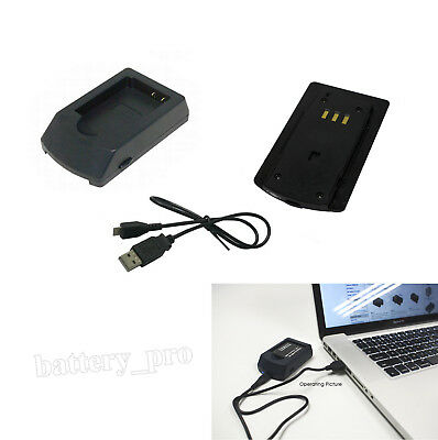 USB Battery Charger for NIKON ENEL12 Coolpix S9500, Coolpix S610 Camera UK Stock