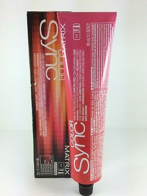 Matrix Color Sync 90Ml New Packaging  Permanent Cream Hair Color Shades  1 - 6