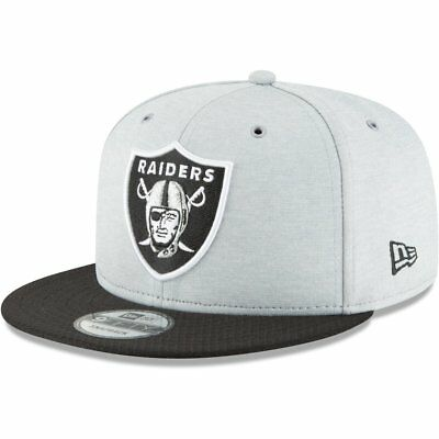 New Era Snapback Cap - Sideline Home Oakland Raiders