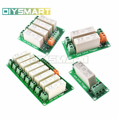 1/2/4/8 Channel SSR Solid State Relay Low Trigger 5A 0-2V DC-DC Uno R3 AU