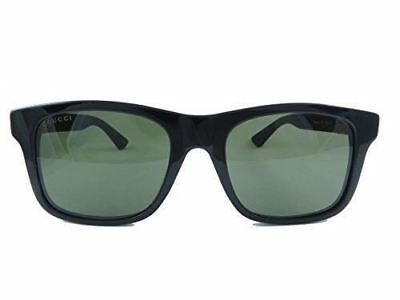 352274925fe Gucci 0008S 001 Black 0008S Rectangle Sunglasses Lens Category 3 Size 53mm