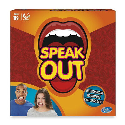 Speak Out Game - Party Mouthpiece Challenge - Brand New Sealed - Board Game Gift