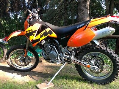 2004 KTM SCX  Very Clean low miles KTM SXC625 Dual Sport Runs great super clean