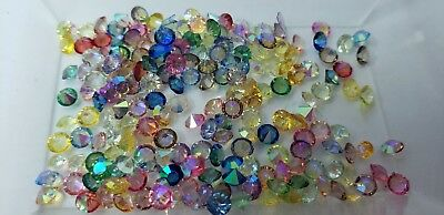 AB PASTEL *4mm Mix Crystals 10pcs Lot for Origami Owl Floating Charm Lockets USA