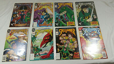 Spelljammer comic lot issues #1 - #8 DC Dungeons & Dragons