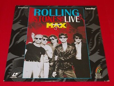 The Rolling Stones - Laserdisc - Live At The Max
