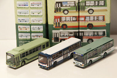 Tomix Bus Collection Brown 1/150 N scale Japan Scale Plastic Model 3x #11 Lot N2