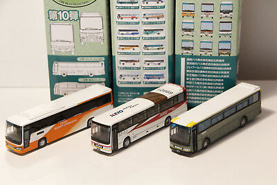 Tomix Bus Collection Brown 1/150 N scale Japan Scale Plastic Model 3x #10 Lot N3