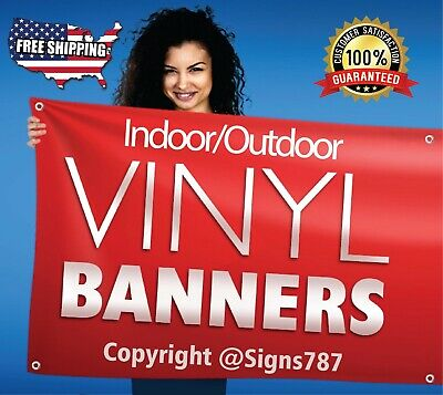 2' x 6' Custom Business Sign Banner High Quality Vinyl