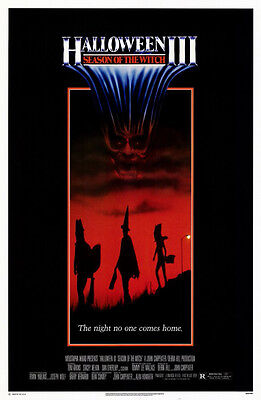 Halloween Iii: Season Of The Witch (1983) Original Movie Poster  -  Rolled