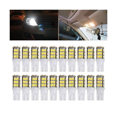 DGCUS 20 x RV Trailer T10 921 194 42-SMD 12V Car Backup Reverse LED Lights Bu...