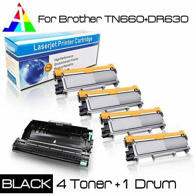 TN660 Toner or DR630 Drum Combo Lot for Brother HL-L2360DW L2300D L2320D L2340DW