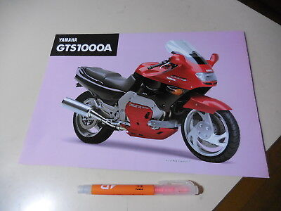 Yamaha Gts1000A English Leaflet