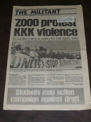 The Militant newspaper/Feb 15 1980/NC Protest/NM Prison Rebellion/A Pulley