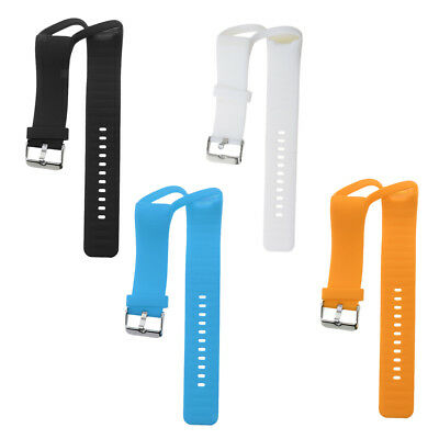 4Pieces Silicone Gel Wrist Band Replacement Strap for Polar A360 Smart Watch