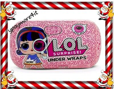 LOL SURPRISE UNDER WRAPS Series 4 Big Sisters Doll Capsule L.O.L. ( IN HAND )