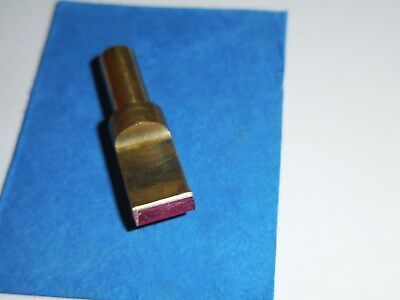 "Ruby Tip Blade For Swivel Knife Craftool 5/16"" Straight Blade New Never Used"
