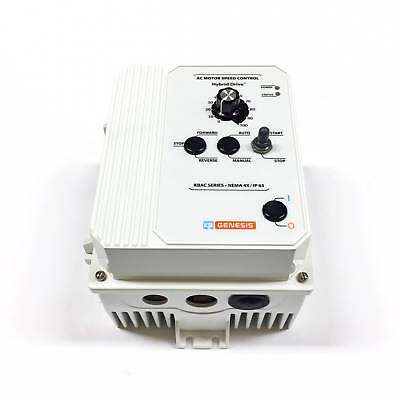 KB-Electronics KBAC-29 Adj Frequency Drive, 9529, White FDA, 1/3PH 230V 50/60Hz