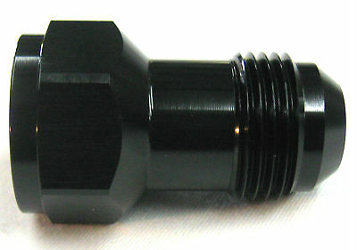 12 an female to 12 an male flare extension fitting black alum problem solver