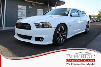 Charger SRT8 Sedan 4D WHITE Dodge Charger with 72,474 Miles available now!