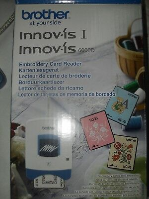 Brother Innovis Embroidery Card Reader