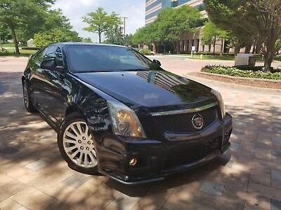 2014 Cadillac CTS Base Coupe 2-Door 2014 CADILLAC CTS COUPE V-LOOK BUMPER,CLEAR TITLE,NO RESERVE,AWD,SUNROOF