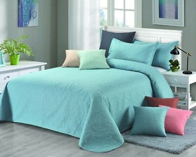 [50%OFF!]Emboss Bedspread//Coverlet/Throw-Single Double Queen King Size 14633