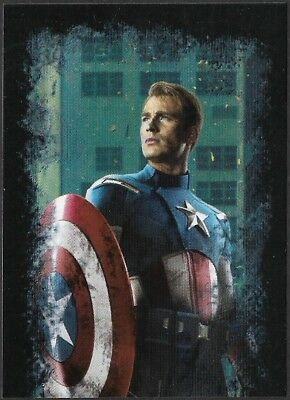 MARVEL - THE AVENGERS - STICKER COLLECTION - No 28 - CAPTAIN AMERICA - By PANINI