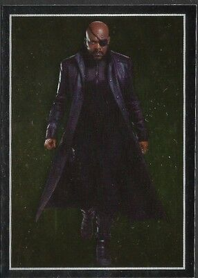 MARVEL - THE AVENGERS - STICKER COLLECTION - No 22 - NICK FURY - By PANINI