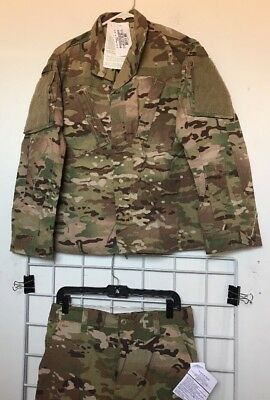 New With Tags OCP Army Multicam FR Uniform Set Jacket SMALL-XS /Trousers SMALL S
