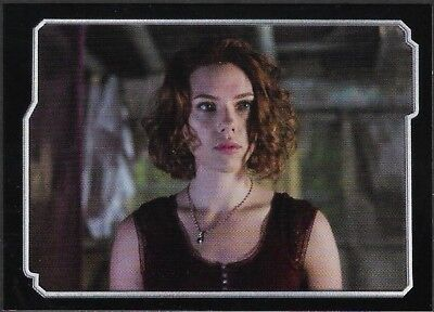 MARVEL - THE AVENGERS - STICKER COLLECTION - No 35 - BLACK WIDOW - By PANINI