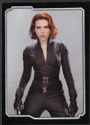MARVEL - THE AVENGERS - STICKER COLLECTION - No 37 - BLACK WIDOW - By PANINI