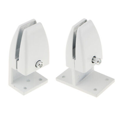 2 PCS Office Cubicle Clips Partition Divider Bracket Privacy Screen Support