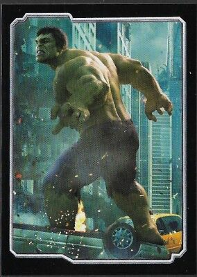 MARVEL - THE AVENGERS - STICKER COLLECTION - No 43 - HULK - By PANINI