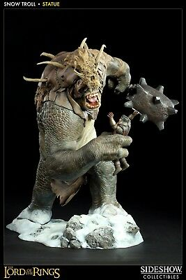 Sideshow Weta Snow Troll Hobbit Lord of the Rings LOTR Statue Gentle Giant