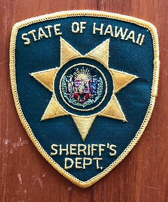 State of Hawaii Sheriff's Department Prison Police Patch