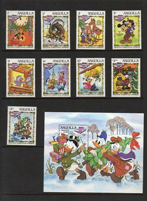"Anguilla Disney ""Dickens' Christmas Stories"" - Disney Topical - MNH"