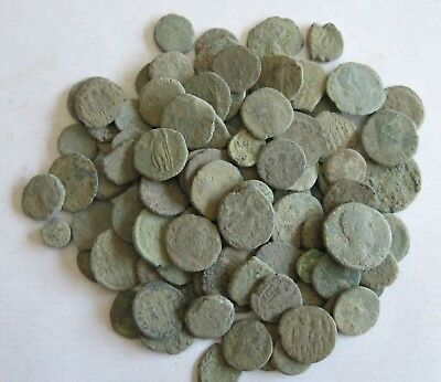 12. Roman Coins LOT 100 - For Cleaning