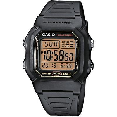 Casio W-800HG-9A Younth 100M Snooze Alarm Chronograph Digital Watch w/BOX