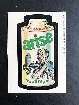 1975 Topps Wacky Packages Original 16th Series 16 ARISE