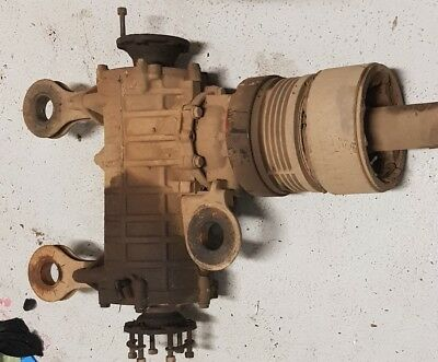 vw t4 transporter syncro rear diff