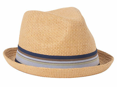 NEW LICENSED PETER Grimm Natural Tavin Safari Fedora Hat Packable ... 80f6e92adfea
