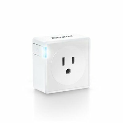 Energizer Connect WIFI Smart Plug (Voice Controlled with Alexa) used with IOS &