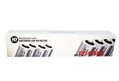 New Direction Tackle a set of 8 batteries ER14250M For K9 R9 TH9, Brand New